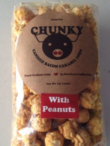 Chunky Pig Candied Bacon Caramel Corn