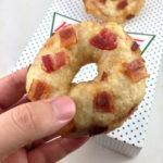 Beer and Bacon Battered Deep Fried Krispy Kreme Doughnuts