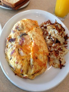 The Kitchen Sink Omelette