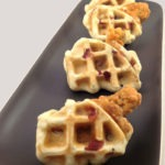 Maple Bacon Chicken and Waffle Wings