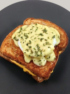 The Grilled Cheese Benedict