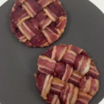 My bacon weave buns