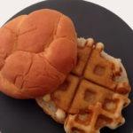 The Waffle Breaded Chicken Patty Sandwich