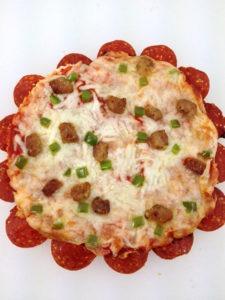 Pepperoni Crust Pizza