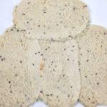 Flattening out rye bread