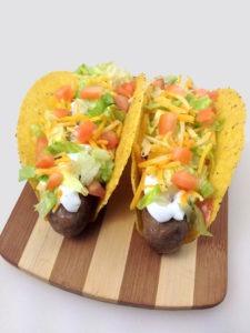 Brat Tacos
