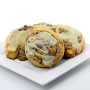 Chocolate Chip Cookie Stuffed Cinnamon Rolls