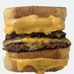 The Grilled Cheese Stuffed Burger