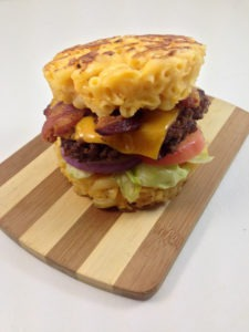The Macaroni and Cheese Burger Bun