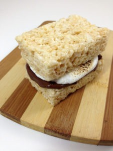 Rice Krispies Treats S'mores