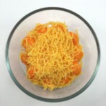 Cheese balls covered in cheese