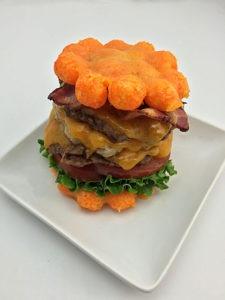 The Cheese Ball Bun Bacon Cheeseburger