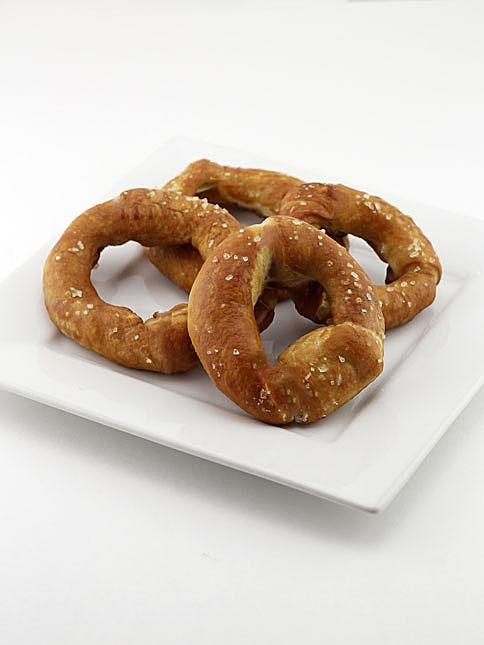 Soft Pretzel Breaded Onion Rings Dudefoods Com