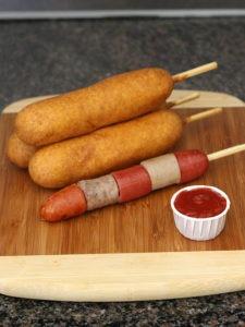 The Racing Sausages Corn Dog