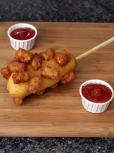 The Tater Tot Breaded Corn Dog