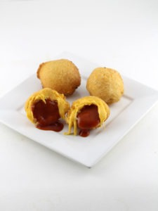 Tomato Soup Stuffed Grilled Cheese Balls