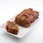 Bacon Wrapped Ground Venison Meatloaf
