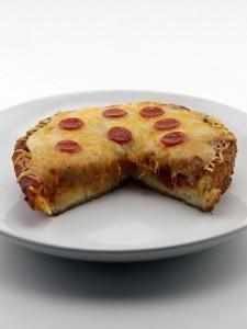 Deep Fried Pizza Crust Pizza