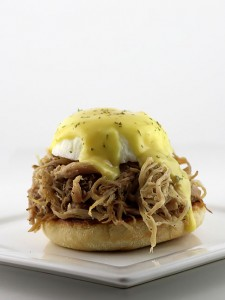 The Pulled Pork Benedict