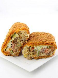 The Deep Fried Doritos Breaded Qdoba Burrito