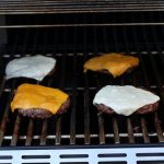 Burgers on the grill!