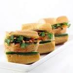 Applewood Smoked Bacon Pork Loin Banh Mi Sandwiches