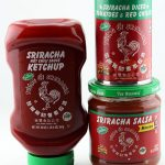 Sriracha Ketchup, Salsa and Diced Tomatoes & Red Chilies