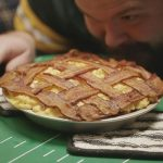 Andouille Mac & Cheese Pie With Bacon Weave Crust