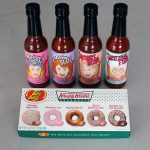 Golden Girls hot sauce and Krispy Kreme Jelly Belly jelly beans