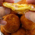 Deep Fried Ham & Cheese Balls