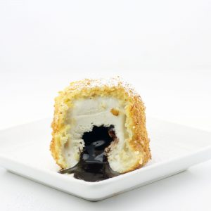 Deep Fried Ice Cream Lava Cake