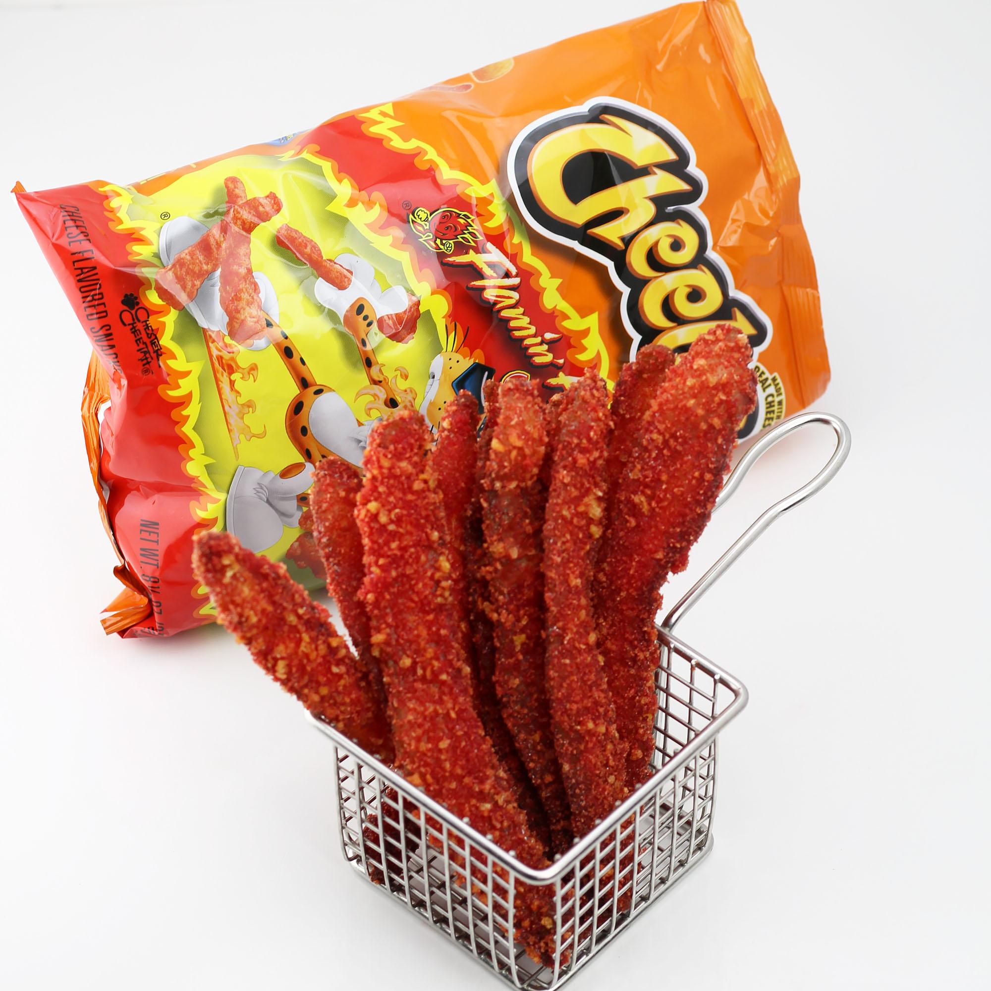 Flamin' Hot Cheetos Encrusted Bacon