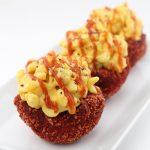 Flamin' Hot Cheetos Breaded Macaroni and Cheese Bowls
