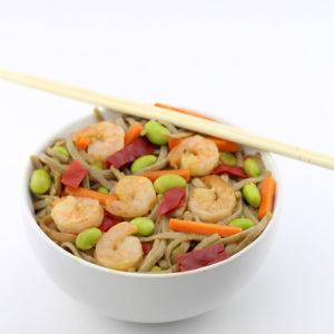 Gorton's Stir Fry With Soba Noodles Shrimp Bowl