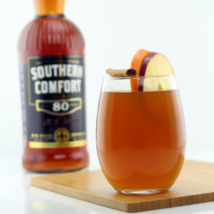 Hot Whiskey Apple Cider Made With Southern Comfort