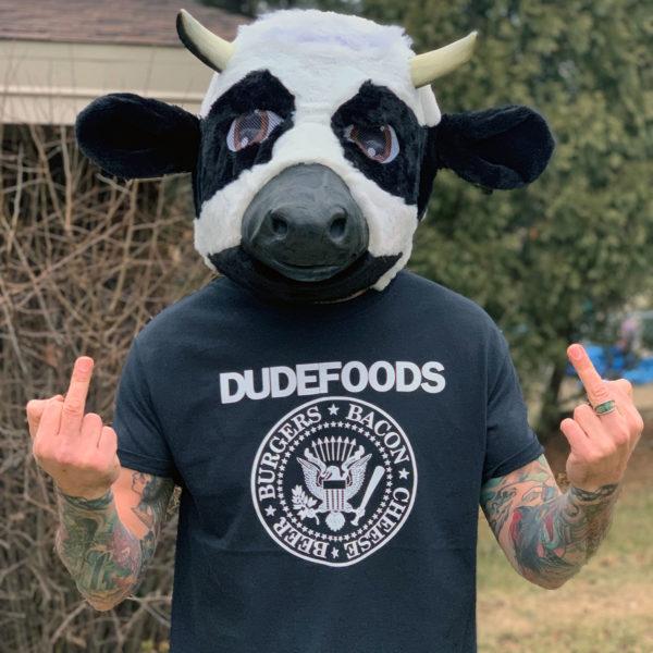 DudeFoods Ramones T-shirt