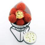 Flamin' Hot Cheetos Breaded Jalapeño Popper Balls