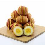 Corn Dog Breaded Hard Boiled Eggs