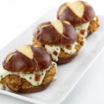 Chicken Fried Pork Tenderloin Sliders With Bacon Country Gravy
