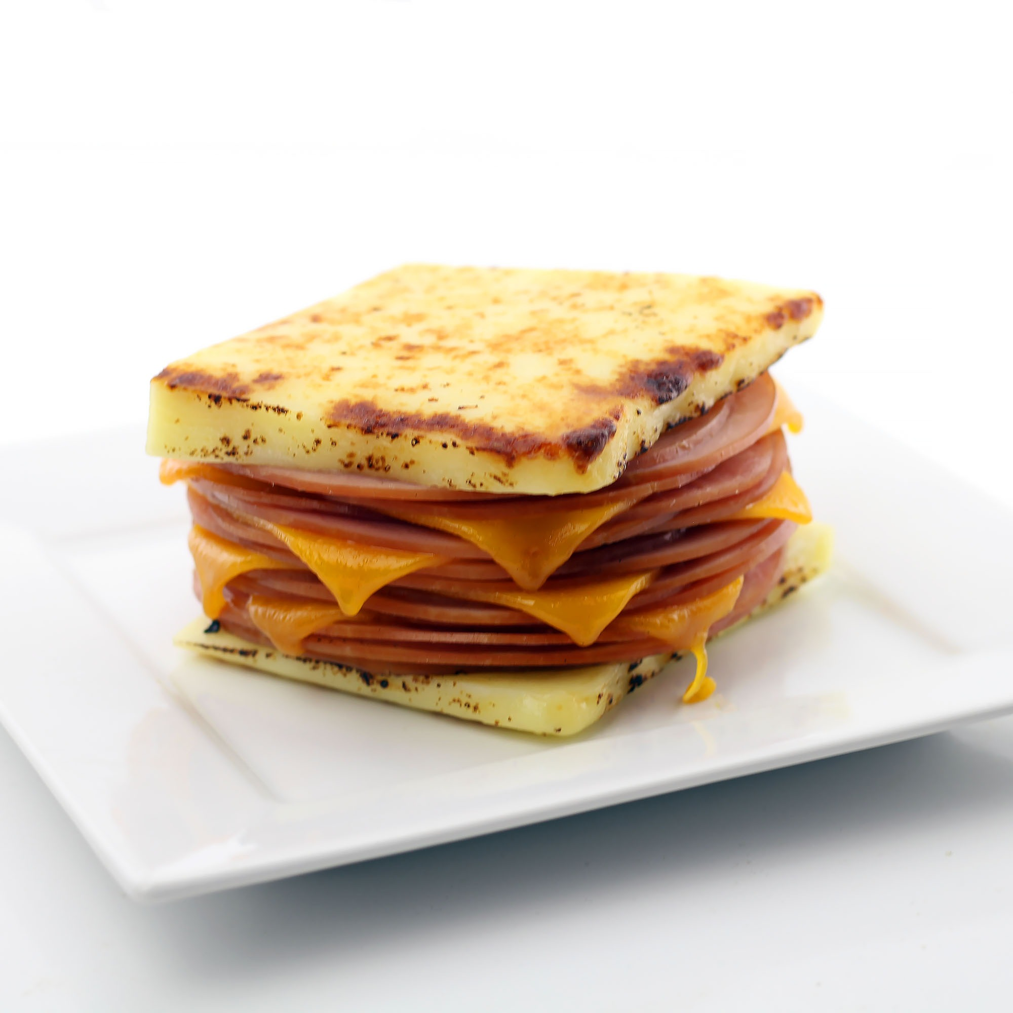 The Bread Cheese Hot Ham and Cheese Sandwich