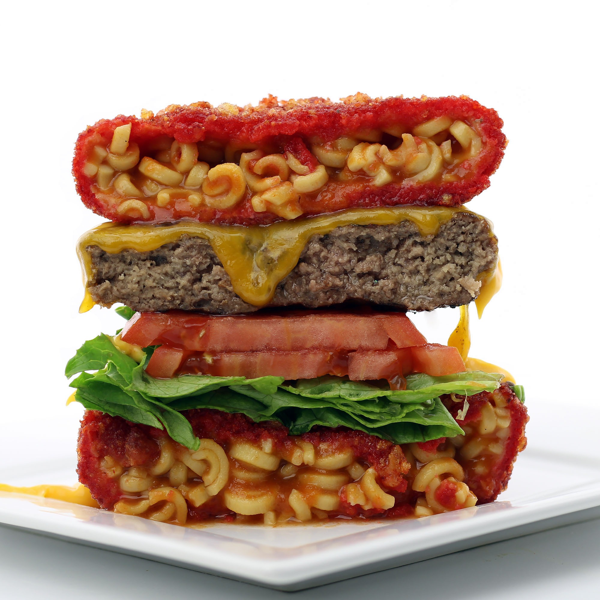 The SpaghettiOs Burger Bun