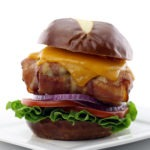 The Bacon Weave Cheeseburger