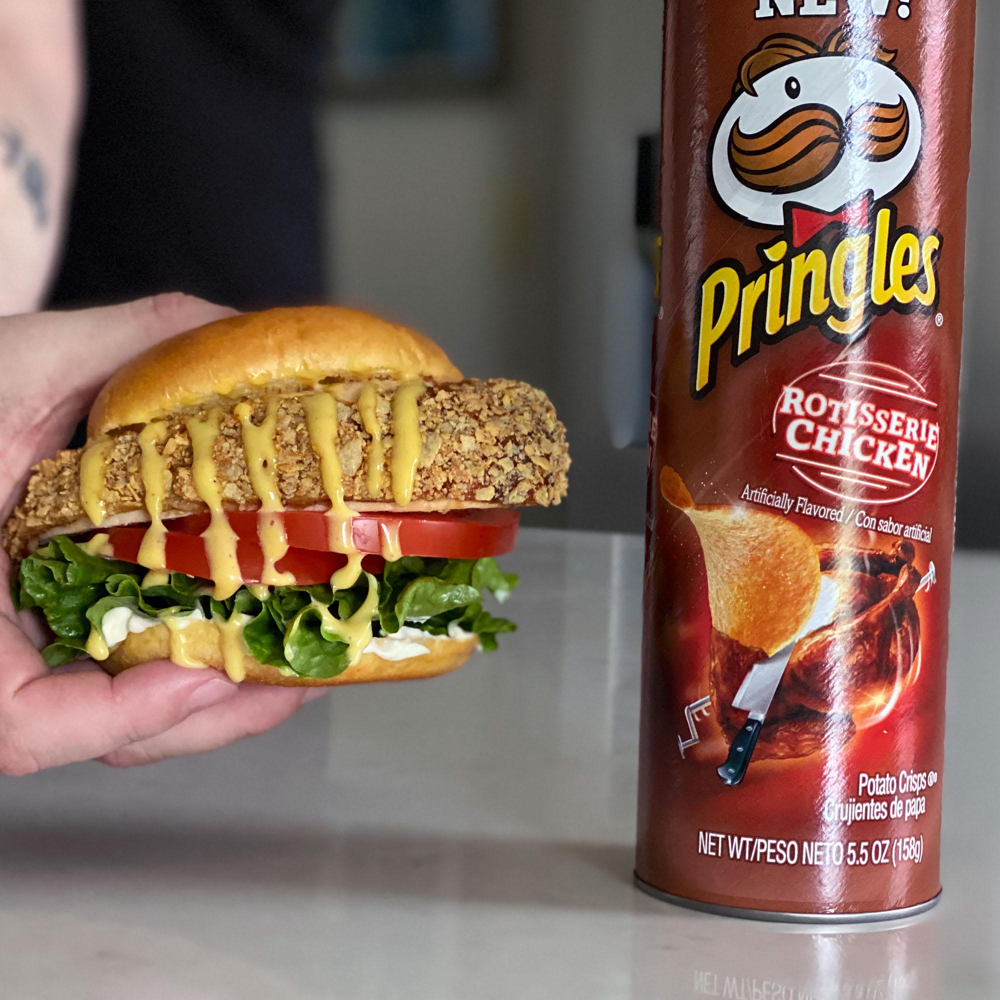 Rotisserie Chicken Pringles Breaded Rotisserie Chicken Sandwiches