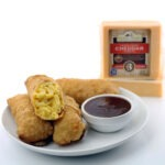 Macaroni and Cheese Egg Rolls